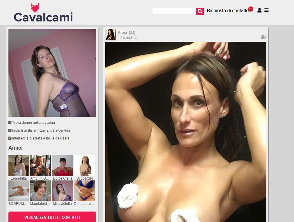 Cavalcami - Il social network per adulti per chi cerca vere scopate